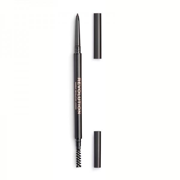 Revolution - Augenbrauenstift - Revolution Precise Brow Pencil Dark Brown