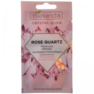Bielenda - Crystal Glow Rose Quartz Face Mask Primer 8G
