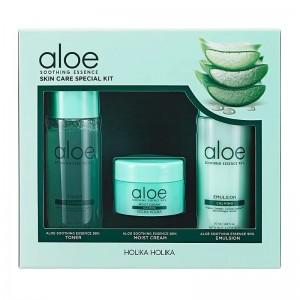 Holika Holika - Hautpflegeset - Aloe Soothing Essence Skin Care Special Kit